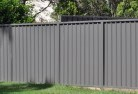 Abernethy Colorbond fencing 3