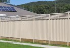 Abernethy Colorbond fencing 5