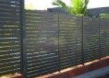 Slat fencing All Hills Fencing Newcastle