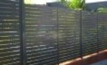 All Hills Fencing Newcastle Slat fencing